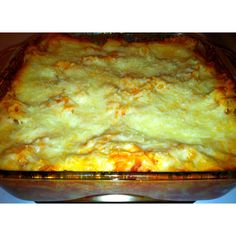 Quick lasagna -  1 box Bowie pasta  1 bottle marinara sauce 1 lb browned turkey meat 1 bag shredded mozzarella cheese 1/2 cup ricotta cheese  Cook pasta per instructions in pan - brown meat at the same time in separate skillet. Drain meat & pasta and mix in casserole dish with sauce and ricotta. Top with cheese. Bake 350 degrees for 25 min.  $14 - feeds 8. Freezes well for meals to reheat at work.