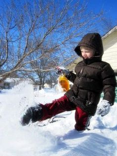 Five fun ways to spend time with your kids this weekend (some are winter-themed)
