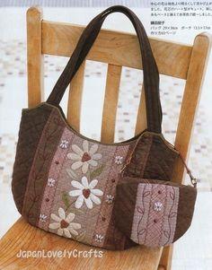 sew, purs, favorit bag, bolsa patch, bolso