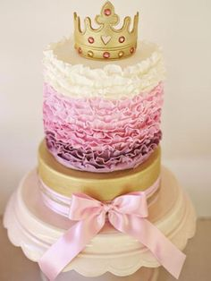34 Royally Gorgeous Princess Birthday Cakes We Love    Your little princess has a birthday coming up -- and we're sure she'll swoon over one of these amazing cakes!