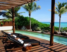 Suites with Private Plunge Pools at Rosewood Mayakoba, on the Riviera Maya, Mexico