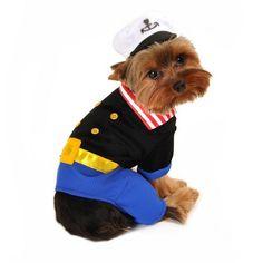 Sailorman Dog Costume
