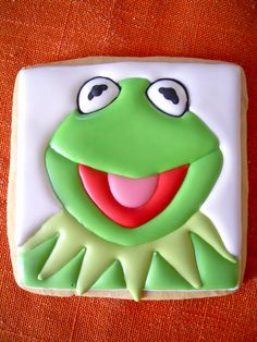 Kermit the Frog by Oh Sugar Events!