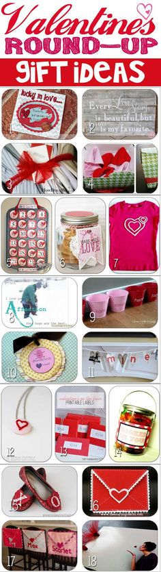 Over 20 DIY Gift Ideas for Valentines!