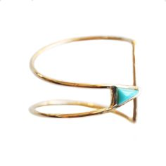 #Curved Triangle Ring  women ring #2dayslook #new #ring #nice  www.2dayskook.com