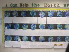 Earth Day Bulletin Board bulletin board