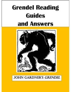 grendel essays Free essay: if he were let out into the real world he wouldn't recognize anything because he would be ignorant to everything but shadows in gardner's book.