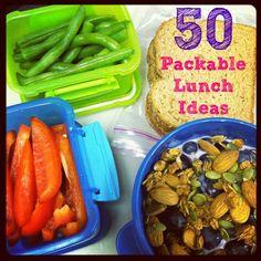 Vegetarian Packable Lunch Ideas