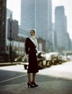 models, cityscapes, fashion, furs, blue suit, constantin joffé, hoods, joff constantin, blues