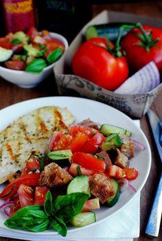 Panzanella -  a perfect summer supper