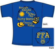 Vote for your favorite FFA chapter T-shirt design!     http://shop.ffa.org/2012-chapter-tee-contest-c1548.aspx