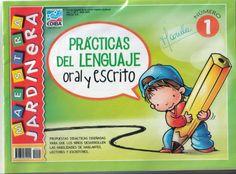 Fichas de preescolar para lenguaje oral y escrito