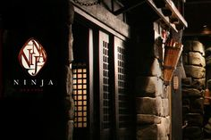 """Imagine ninjas serving your Japanese/French/American fusion cuisine in a private nook of a subterranean feudal Japanese castle. You enter via through a dark path beset with armed """"ninjas."""""""