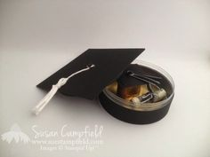 Graduation Cap Treat Box