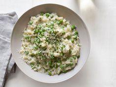 Risotto with Yogurt & Peas | Food Network