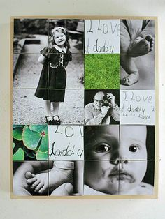 6-in-1 Photo Cubes