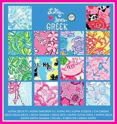 Get ready to show your sorority style! The NEW Lilly Pulitzer by Lifeguard Press Greek Collection is now available for pre-order at The Pink Pelican.