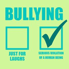 Raise awareness of the impact bullying has on others.