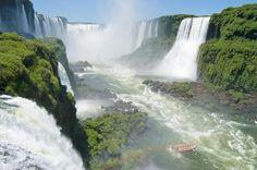 Iguazu Falls, Brazil-Argentina Border | Best places in the World brazilargentina border, waterfalls, iguazu fall, south america, victoria falls, need a vacation, places, blog, bucket lists