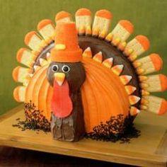How ro make a Thanksgiving Turkey Shaped Cake