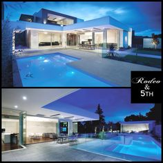 Stunning Home!! Victoria-based architectural practice, Canny, have designed the Hawthorn Residence project. The wow-factor property is located in Hawthorn, Australia. #rodeoand5th #luxury #homes #design #decor #pool #architecture #Australia