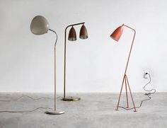 Greta Magnusson Grossman floor lamps