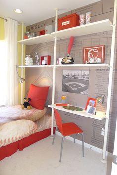 Design Dazzle: Tween & Teen Boys Room Decorating Ideas
