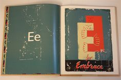 """e"" for embrace, paul thurlby's alphabet"