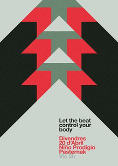 Poster alternative colors  marindsgn by MARIN DSGN, via Flickr