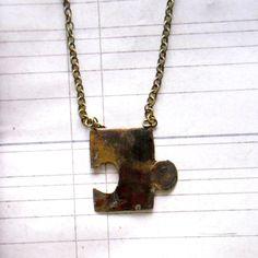 $25 Missing Puzzle Piece Necklace