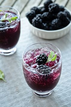 blackberry sage cooler |