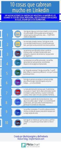 10 cosas que cabrean mucho en Linkedin #linkedin