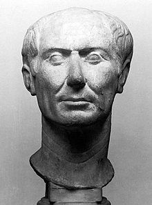 Gaius Julius Caesar. 'Roman general and statesman and a distinguished writer of Latin prose. He played a critical role in the gradual transformation of the Roman Republic into the Roman Empire.' -Wikipedia