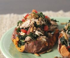 Chipotle Chicken Sweet Potato Recipe | Paleo inspired, real food