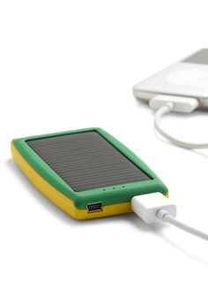 A Power Solar Travel Charger for iPod.