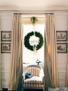 Hang a Wreath in a Window