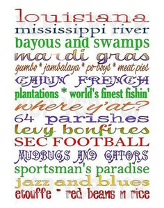 Louisiana defined!