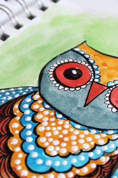 SKETCHBOOK OWLS