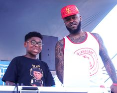 "The Youngest In Charge ""Dj KC"" & Dough From Da Go @ The Pullman Festival - Chicago, IL"