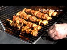 Grilling BBQ Chicken Thigh Recipe (Barbecue Chicken)