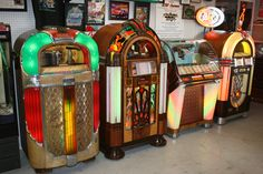 vintage jukeboxes