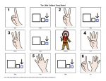 Free PECs - High quality graphics - very cute - Ten Little Indians Song Board, good for counting or to use with song.  Hands on learning especially helpful for preschoolers and kids with autism and/or Down syndrome