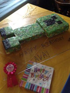 Creeper Cake...