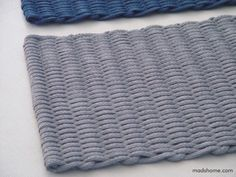 Rope mat by madshome on Etsy finally found the perfect mat