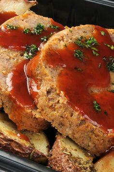 Brown Sugar Meatloaf #Recipe