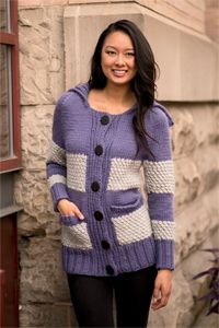 Aberdeen Sweater - knitting pattern from Winter 2013 Love of Knitting