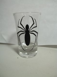 Spiderman Shot Glasses by TheCraftyGeek86 on Etsy, $6.00