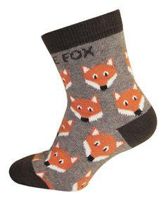 Gray Fox Sock by Melton