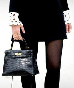Hermès croc Kelly