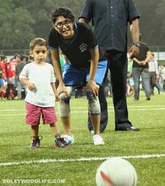 Aamir Khan's little son Azad on the football field - View pics!  #AamirKhan #AamirKhanson #Azad #KiranRao #AzaadKhan